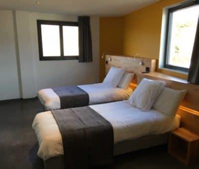 chambre double lits jumeaux hôtel Vercors